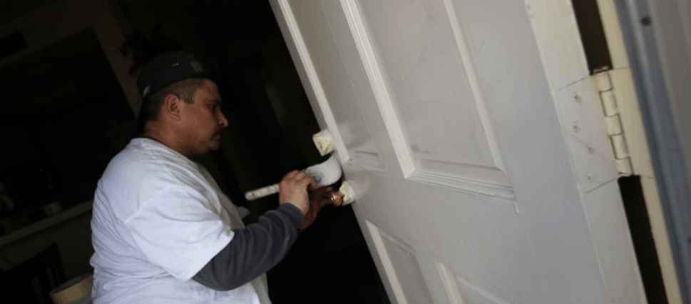 commercial painting on an Oceanside HOA