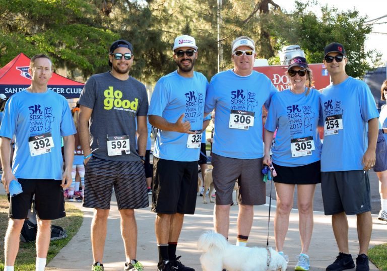 2017 5K SDSC, PacWest Painting, Give Back
