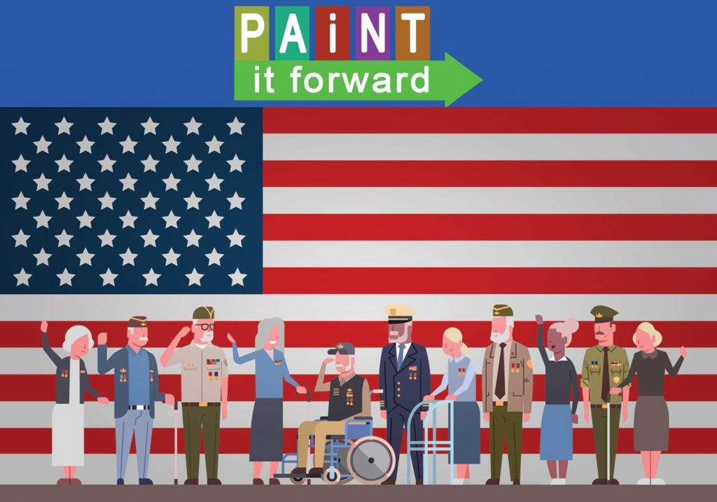 PacWest Painting, Pacific Western Painting, Paint It Forward, Hero Award