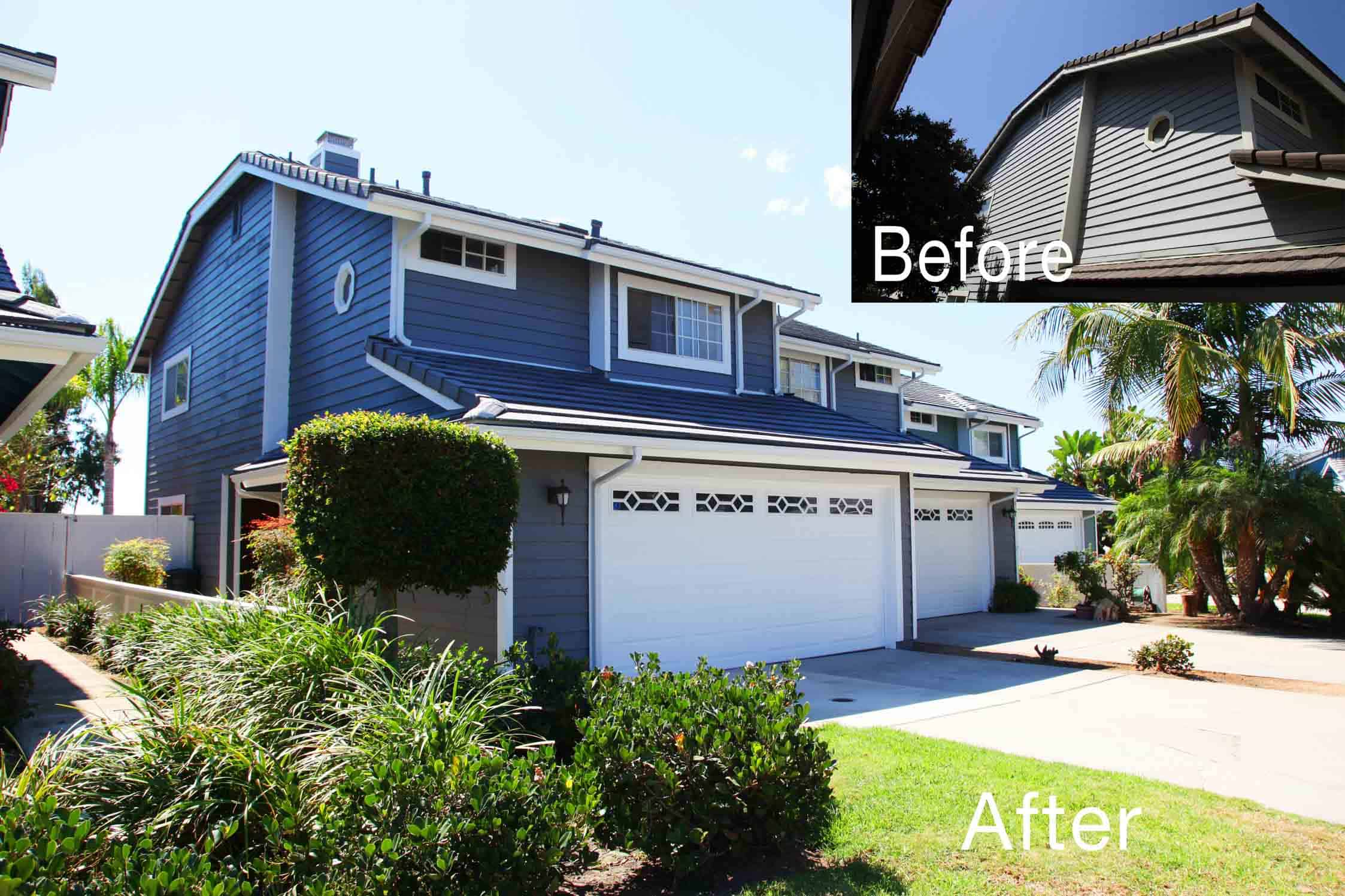 Encinitas Village Commercial Painting and Reconstruction