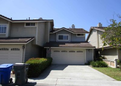 Encinitas Village Before Commercial Exterior Painting Reconstruction Western Pacific