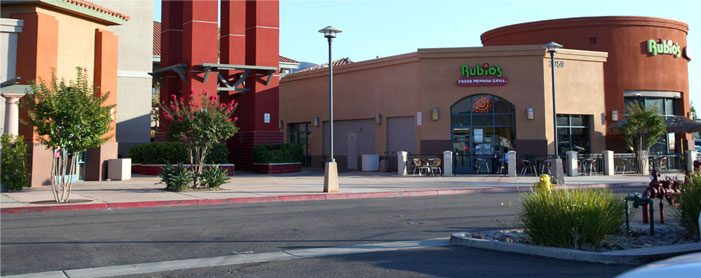 Rubios Commercial Paint Project