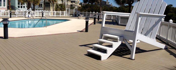 Deck & Floor Coating - Outdoor Patio, PacWest Painting