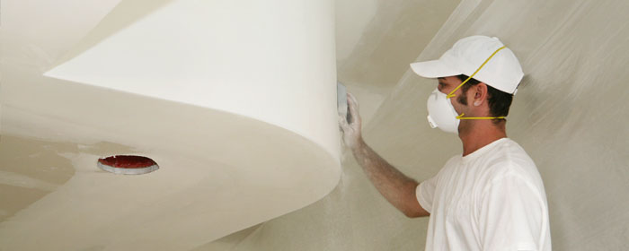 Drywall Installation Sanding - Stucco & Drywall Repair
