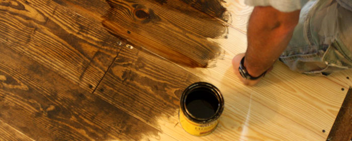 Hardwood Floor Stain - Staining Contractor