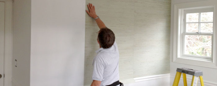 Wallcovering installation - Wallpaper Contractor